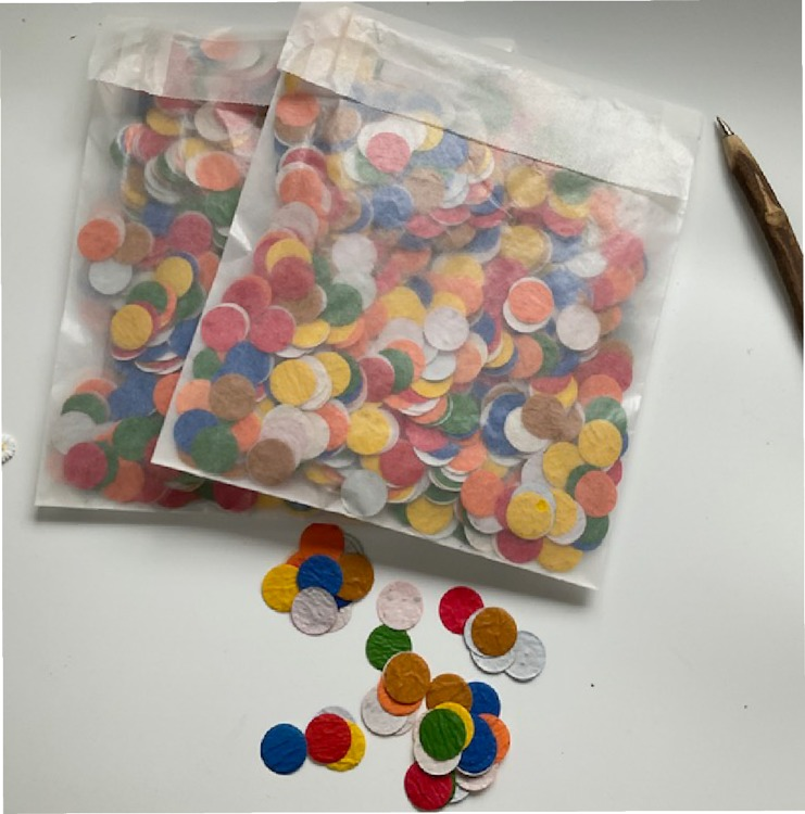 Growing confetti Party mix xl